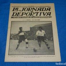 Coleccionismo deportivo: (M) LA JORNADA DEPORTIVA AÑO II NUM 39 , 26 JUNIO 1922 PORTADA CD EUROPA - US DE SANS. Lote 86376592