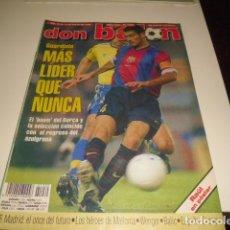 Coleccionismo deportivo: REVISTA DE FUTBOL DON BALON Nº 1230 POSTER DE RAUL . Lote 115106446