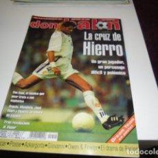 Coleccionismo deportivo: REVISTA DE FUTBOL DON BALON Nº 1222 POSTER DREAM TEAM . Lote 115062828