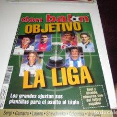 Coleccionismo deportivo: REVISTA DE FUTBOL DON BALON Nº 1240 OBJETIVO LA LIGA . Lote 115106487