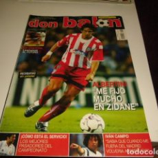 Coleccionismo deportivo: REVISTA DE FUTBOL DON BALON Nº 1422 POSTER RECREATIVO DE HUELVA . Lote 86491544