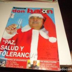Coleccionismo deportivo: REVISTA DE FUTBOL DON BALON Nº 1419. Lote 86491612