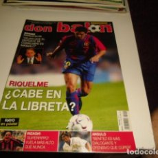 Coleccionismo deportivo: REVISTA DE FUTBOL DON BALON Nº 1411 POSTER RAYO VALLECANO . Lote 86491952
