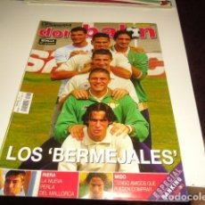 Coleccionismo deportivo: REVISTA DE FUTBOL DON BALON Nº 1412 POSTER SEVILLA . Lote 86492080