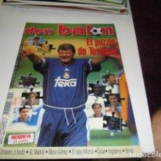 Coleccionismo deportivo: REVISTA DE FUTBOL DON BALON Nº 1242 POSTER MENDIETA . Lote 86492108