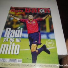 Coleccionismo deportivo: REVISTA DE FUTBOL DON BALON Nº 1225 . Lote 86492180