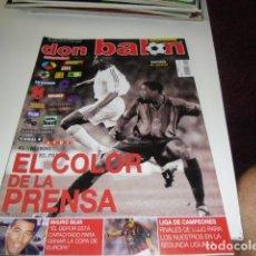 Coleccionismo deportivo: REVISTA DE FUTBOL DON BALON Nº 1414 POSTER RACING SANTANDER . Lote 86492232
