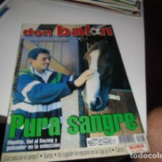 Coleccionismo deportivo: REVISTA DE FUTBOL DON BALON Nº 1245 POSTER VALENCIA . Lote 115064700