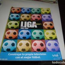 Collezionismo sportivo: REVISTA DE FUTBOL EXTRA LIGA MUNDO DEPORTIVO 2002 2003 . Lote 86492708