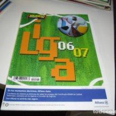 Collezionismo sportivo: REVISTA DE FUTBOL EXTRA LIGA 2006 2007 MUNDO DEPORTIVO 06 07. Lote 86493404