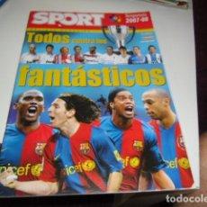 Coleccionismo deportivo: REVISTA DE FUTBOL EXTRA LIGA SPORT 2007 2008 07 08 . Lote 86493548