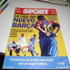 Coleccionismo deportivo: REVISTA DE FUTBOL EXTRA LIGA SPORT 2002 2003 02 03. Lote 86493696