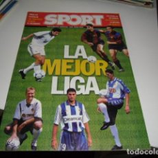 Coleccionismo deportivo: REVISTA DE FUTBOL EXTRA LIGA SPORT 2000 2001 00 01. Lote 86493896