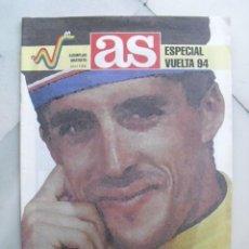 Coleccionismo deportivo: SUPLEMENTO ESPECIAL AS. ADIOS, PERICO. ESPECIAL VUELTA 94. ABRIL 1994.. Lote 86509040