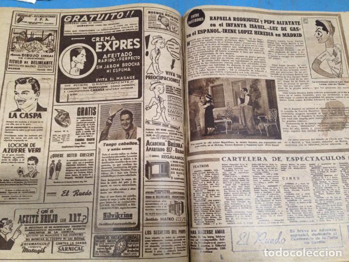 Coleccionismo deportivo: ANTIGUO TOMO PERIODICO DEPORTIVO SEMANARIO MARCA DESDE SEPTIEMBRE 1947 HASTA AGOSTO 1948 - Foto 5 - 86574056