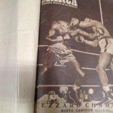 Coleccionismo deportivo: ANTIGUO TOMO PERIODICO DEPORTIVO SEMANARIO MARCA DESDE JUNIO 1949 HASTA AGOSTO 1950. Lote 86574488