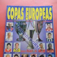 Coleccionismo deportivo: REVISTA EXTRA COPAS EUROPEAS 96/97 GUIA DON BALON CHAMPIONS LEAGUE RECOPA UEFA 1996/1997 CAMPEONES. Lote 86611920