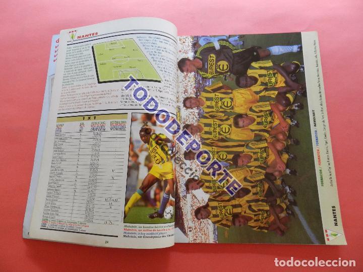 Coleccionismo deportivo: REVISTA EXTRA COPAS EUROPEAS 1995-1996 GUIA DON BALON COPA DE EUROPA 95/96 CHAMPIONS LEAGUE GUIDE - Foto 3 - 86612244