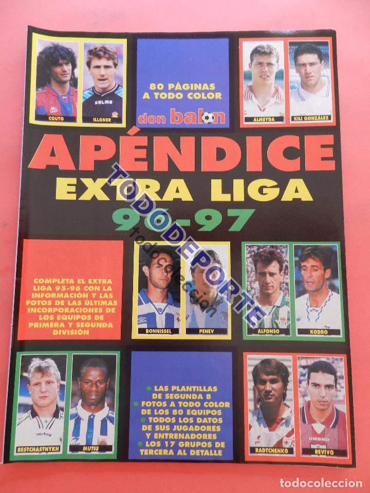 APENDICE EXTRA LIGA 96/97 REVISTA DON BALON SUPLEMENTO ESPECIAL GUIA LIGA TEMPORADA 1996-1997 FUTBOL (Coleccionismo Deportivo - Revistas y Periódicos - Don Balón)
