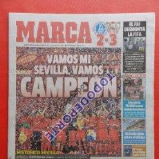 Coleccionismo deportivo: DIARIO MARCA SEVILLA FC CAMPEON COPA EUROPA LEAGUE 14/15 UEFA 14 15 WINNER. Lote 86893224