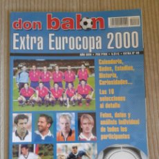 Collectionnisme sportif: DON BALON. EXTRA EUROCOPA 2000. BELGICA Y PAISES BAJOS. Lote 86918840