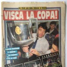 Coleccionismo deportivo: DIARIO SPORT. Nº 3019. 2 ABRIL 1988. VISCA LA COPA. BARÇA. FUTBOL CLUB BARCELONA. Lote 87073668