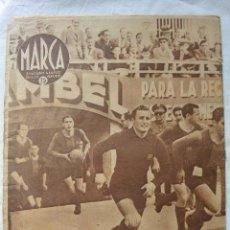 Coleccionismo deportivo: SEMANARIO MARCA. VICTORIA BARCELONA SOBRE EL ESPAÑOL 2-3 EN COPA. Lote 87146736