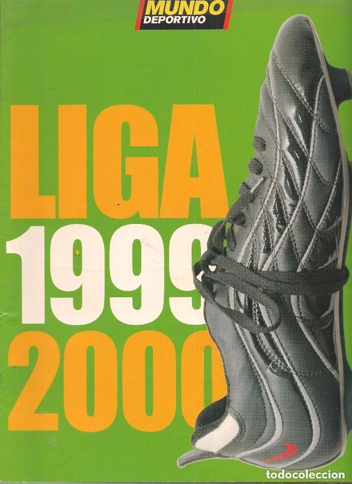LIGA 1999 - 2000 (Coleccionismo Deportivo - Revistas y Periódicos - Mundo Deportivo)