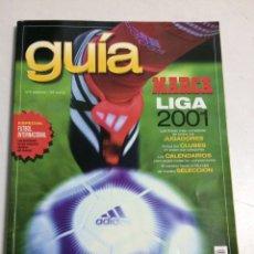 Coleccionismo deportivo: GUÍA MARCA LIGA 2001. Lote 95763827