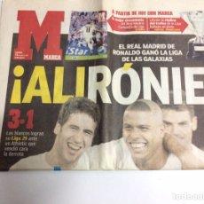 Coleccionismo deportivo: DIARIO MARCA REAL MADRID CAMPEÓN DE LIGA 29 - 2003. Lote 88804290