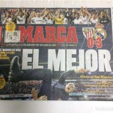 Coleccionismo deportivo: DIARIO MARCA REAL MADRID CAMPEÓN DE LIGA 32. Lote 88816679
