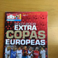 Coleccionismo deportivo: REVISTA DON BALON EXTRA COPAS EUROPEAS NUMERO 100 AÑO 2007 2008 07 08. Lote 88893928