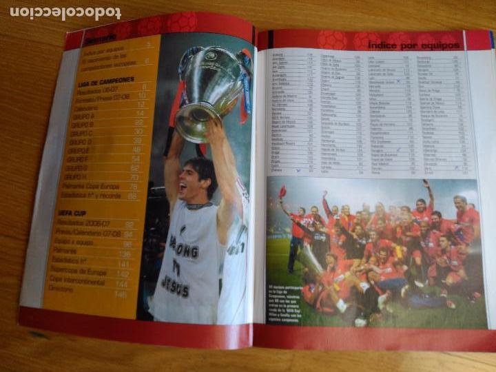 Coleccionismo deportivo: REVISTA DON BALON EXTRA COPAS EUROPEAS NUMERO 100 AÑO 2007 2008 07 08 - Foto 6 - 88893928
