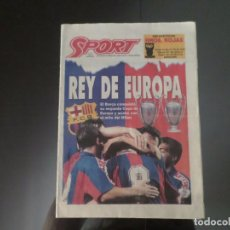 DIARIO SPORT 18 MAYO 1994 FINAL 2ª COPA EUROPA FC BARCELONA AC MILAN - ATENAS VICTORIA FC BARCELONA