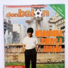 Coleccionismo deportivo: DON BALON 627 POSTER CELTA Y LAS PALMAS 87/88 - ESPAÑA VS AUSTRIA. Lote 88922324