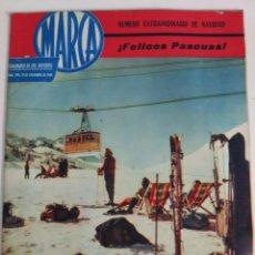 Coleccionismo deportivo: REVISTA MARCA. NÚMERO EXTRAORDINARIO NAVIDAD. NÚM 994. 19 DICIEMBRE 1961. Lote 89216520
