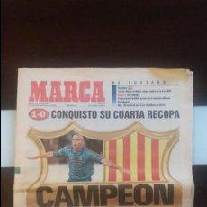 Coleccionismo deportivo: PERIODICO MARCA 15 MAYO 1997. Lote 89326220