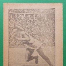 Collezionismo sportivo: JESSE OWENS, EL ANTÍLOPE DE ÉBANO (ATLETISMO) - MARCA - SERIE 40 DIAS, 40 ASES, 40 BIOGRAFÍAS - 1963. Lote 89465556