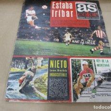 Coleccionismo deportivo: AS 108 JUNIO 1973 POSTER SPORTING GIJÓN. Lote 89632484