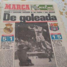 Colecionismo desportivo: MARCA LIGA 85-86 LUNES 02-12-1985. Lote 89637932