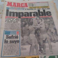 Coleccionismo deportivo: DIARIO MARCA LIGA 85-86 06-01-1986. Lote 89642010
