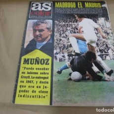 Coleccionismo deportivo: AS 149 MARZO 1974 POSTER SELECCIÓN YUGOSLAVIA NETZER. Lote 89654428