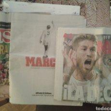 Coleccionismo deportivo: LOTE 3 PERIODICOS DEPORTIVOS MARCA AS. Lote 90224750