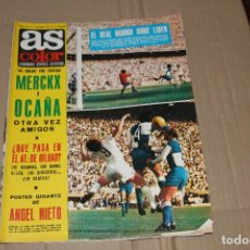 Coleccionismo deportivo: AS COLOR Nº 20, CON POSTER CENTRAL DE ANGEL NIETO, AÑO 1971. Lote 90357024
