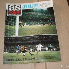 Colecionismo desportivo: AS COLOR Nº 26 , CON POSTER CENTRAL DE MOHAMED ALÍ, AÑO 1971. Lote 90363932