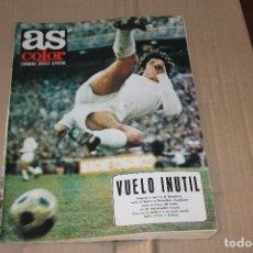 Colecionismo desportivo: AS COLOR Nº 28, CON POSTER CENTRAL DEL CASTELLÓN 1971-72, AÑO 1972. Lote 90366256