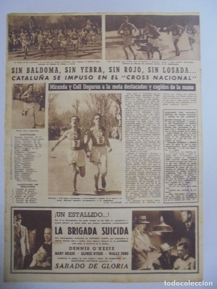Coleccionismo deportivo: PERIÓDICO VIDA DEPORTIVA. AÑO VIII. NÚMERO 287. MARTES 13 DE MARZO 1951. 16 PAGINAS. 38,5X28,5 CM - Foto 2 - 90703915