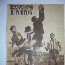Coleccionismo deportivo: PERIÓDICO VIDA DEPORTIVA. AÑO VIII. NÚMERO 326. MARTES 11 DE DICIEMBRE 1951. 16 PAGS. 38,5X28,5 CM. Lote 90707645