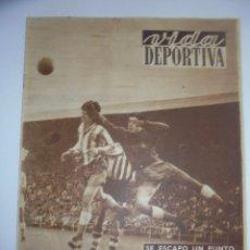 Coleccionismo deportivo: PERIÓDICO VIDA DEPORTIVA. AÑO VIII. NÚMERO 322. MARTES 13 NOVIEMBRE 1951. 16 PAGS. 38,5X28,5 CM. Lote 90707695