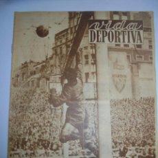 Coleccionismo deportivo - PERIÓDICO VIDA DEPORTIVA. AÑO VIII. NÚMERO 297. MARTES 22 DE MAYO 1951. 16 PAGINAS. 38,5X28,5 CM - 90708420